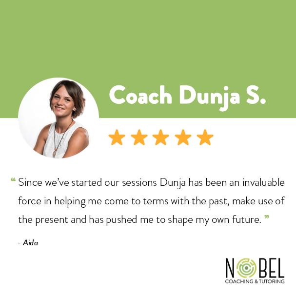 Testimonials about coach Dunja S.